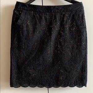 LOFT black pencil skirt